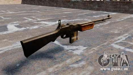 Fusil automatique Browning Bar pour GTA 4 secondes d'écran