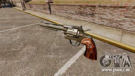 Colt Python Revolver pour GTA 4 secondes d'écran