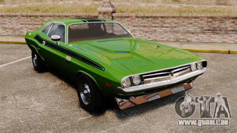 Dodge Challenger 1971 v2 pour GTA 4