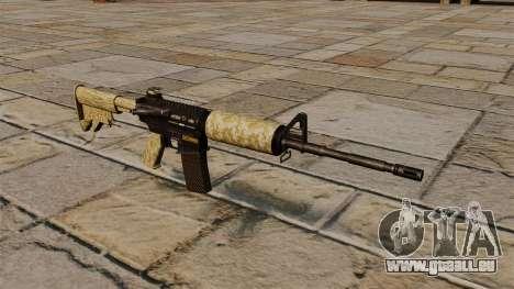 Automatique carabine M4A1 désert pour GTA 4
