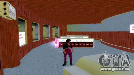 Boutique de MTS GTA Vice City pour la troisième écran