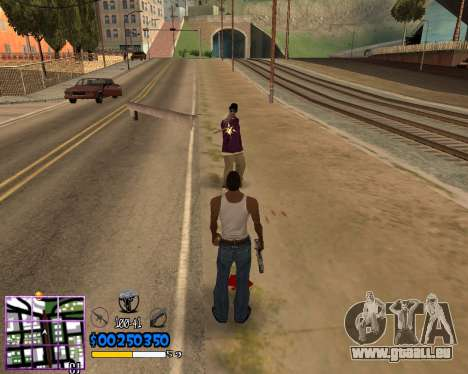C-HUD by Dony Scofield pour GTA San Andreas
