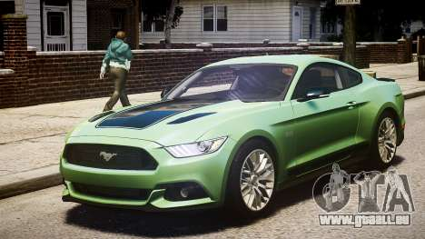 Ford Mustang GT 2015 pour GTA 4