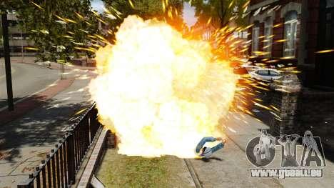 Explosion de balles pour GTA 4 troisième écran