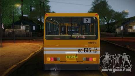 LIAZ 5256.00 für GTA San Andreas Innen