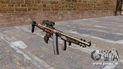 La mitraillette Thompson 2009 pour GTA 4