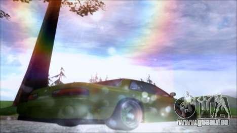 Nissan Onevia Shark pour GTA San Andreas vue de droite