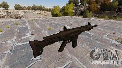 Fusil automatique Remington ACR pour GTA 4 secondes d'écran