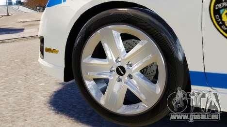 Ford Fusion LCPD 2011 [ELS] pour GTA 4 est une vue de l'intérieur