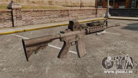 M4 Karabiner SOPMOD v3 für GTA 4 Sekunden Bildschirm
