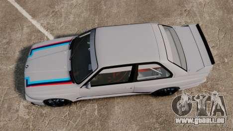 BMW M3 1990 Race version pour GTA 4 est un droit