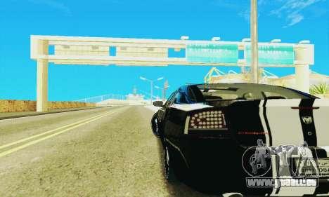 Dodge Charger DUB pour GTA San Andreas vue intérieure