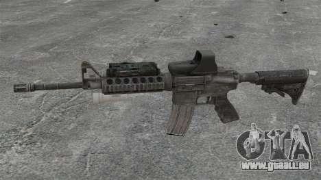 M4 Karabiner SOPMOD v3 für GTA 4 dritte Screenshot