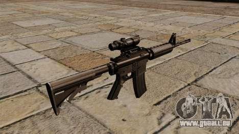Automatique carabine M4A1 ACOG pour GTA 4 secondes d'écran