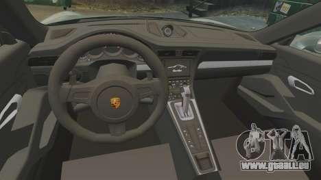 Porsche 911 Turbo 2014 [EPM] Ghosts für GTA 4 Innenansicht