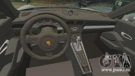 Porsche 911 Turbo 2014 [EPM] Ghosts für GTA 4 Innenansicht