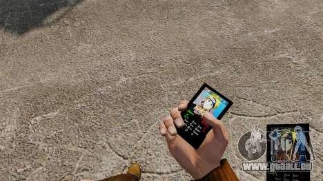 Thème Naruto pour votre téléphone pour GTA 4