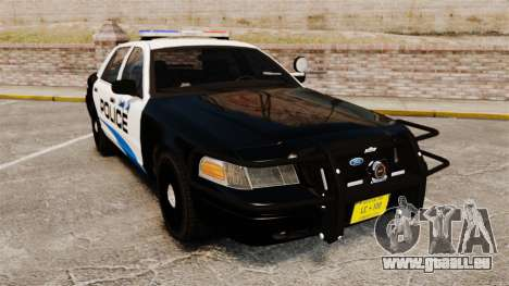 Ford Crown Victoria Police Interceptor [ELS] pour GTA 4