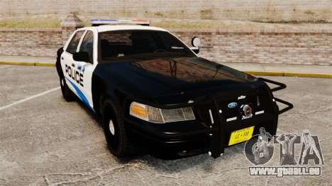 Ford Crown Victoria Police Interceptor [ELS] pour GTA 4