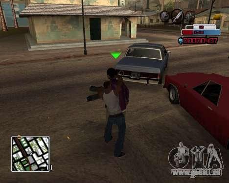 C-HUD by Braun pour GTA San Andreas troisième écran