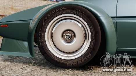 BMW M1 [EPM] pour GTA 4 Vue arrière