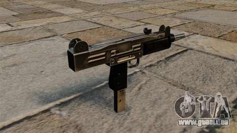 Uzi-Maschinenpistole für GTA 4 Sekunden Bildschirm