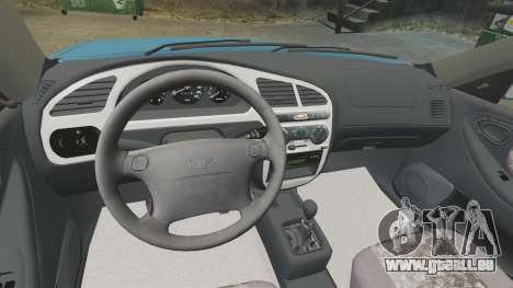 Daewoo Lanos PL 2001 pour GTA 4 est un côté