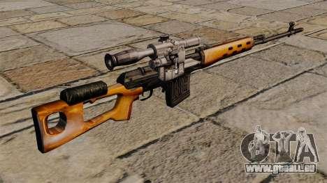 Dragunow-Scharfschützengewehr von s.t.a.l.k.e.r. für GTA 4 Sekunden Bildschirm