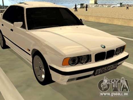 BMW 525 E34 pour GTA San Andreas vue de droite