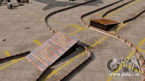 Airport RallyCross Track pour GTA 4 cinquième écran