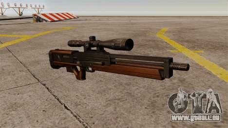 Die Walther WA 2000 Scharfschützengewehr für GTA 4
