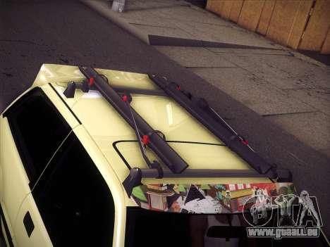 Honda Civic Si 1986 pour GTA San Andreas vue de dessous