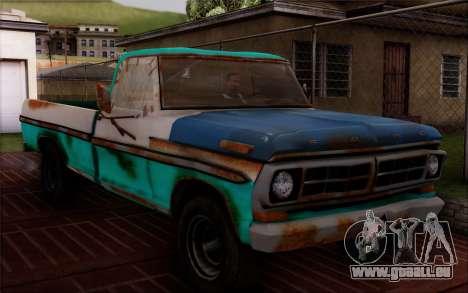 Ford F-150 Old Crate Edition pour GTA San Andreas sur la vue arrière gauche