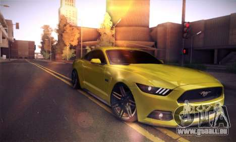 Ford Mustang 2015 Swag pour GTA San Andreas