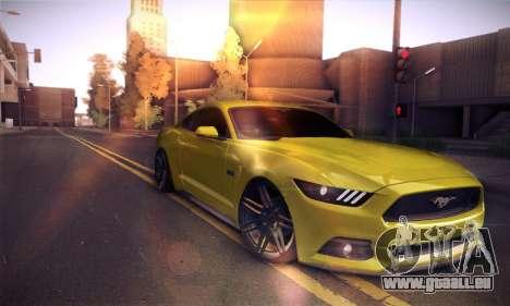 Ford Mustang 2015 Swag für GTA San Andreas