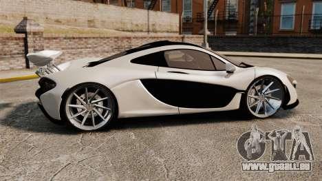McLaren P1 2014 für GTA 4 linke Ansicht