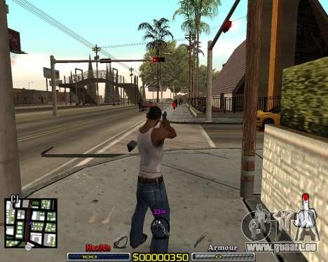 C-HUD by qrt pour GTA San Andreas troisième écran