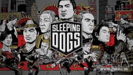 Boot Bildschirm schlafende Hunde für GTA 4