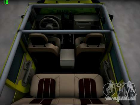 Jeep Wrangler Unlimited 2007 für GTA San Andreas Seitenansicht