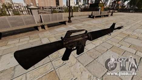 Fusil d'assaut M16A4 Vietnam pour GTA 4 secondes d'écran