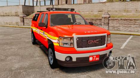 GMC Sierra 2500HD 2010 FDNY [ELS] für GTA 4