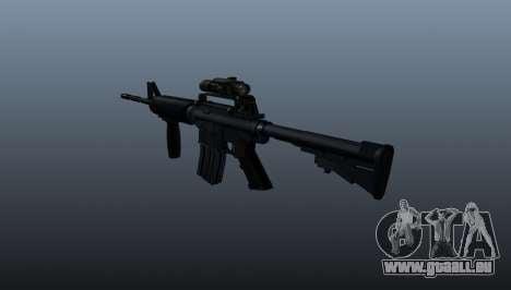 Automatique carabine M4A1 Grip pour GTA 4 secondes d'écran