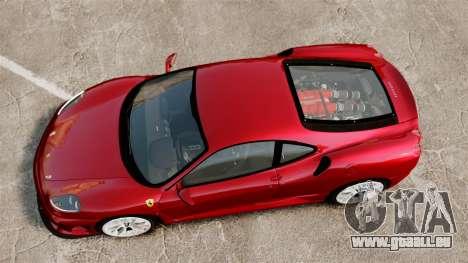 Ferrari F430 Scuderia 2007 pour GTA 4 est un droit