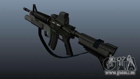 Automatique carabine M4A1 v3 pour GTA 4 secondes d'écran