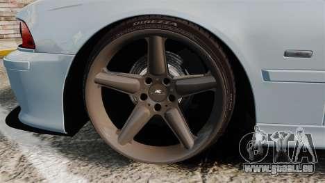 BMW M5 E39 2003 für GTA 4 Rückansicht