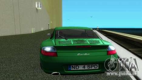 Porsche 911 Turbo für GTA Vice City rechten Ansicht
