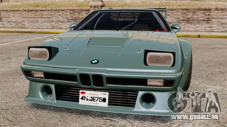 BMW M1 [EPM] pour GTA 4 Salon