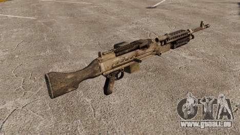 Mitrailleuse polyvalente M240B pour GTA 4 secondes d'écran