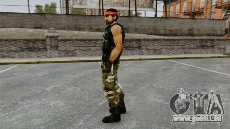South American Guerilla-terrorist für GTA 4 Sekunden Bildschirm
