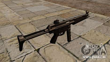 Mitraillette MP5 noir stalker pour GTA 4 secondes d'écran